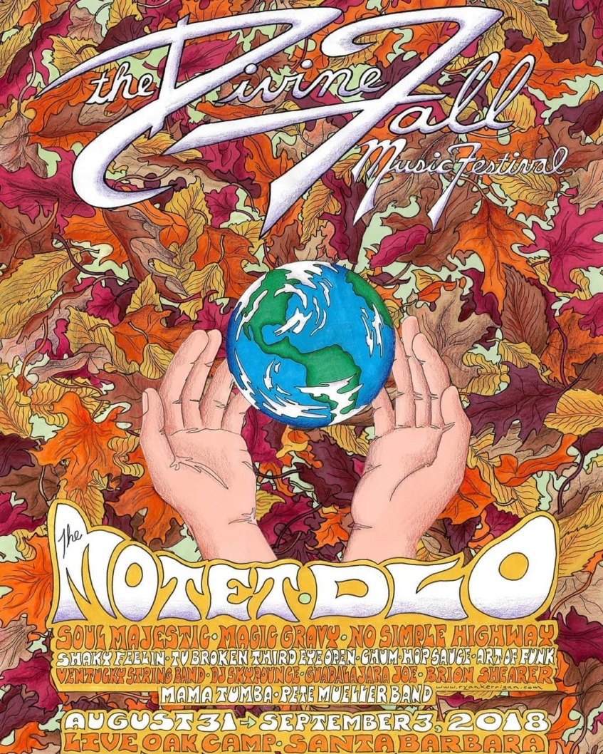 Devine Fall! Direct Support to The Motet!