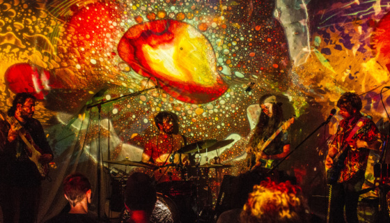 Bicycle day at the Milk Bar w/ Mad Alchemy
